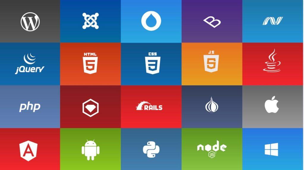 プログラミング言語の紹介図