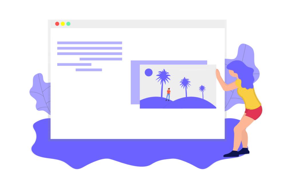 webページを制作する人