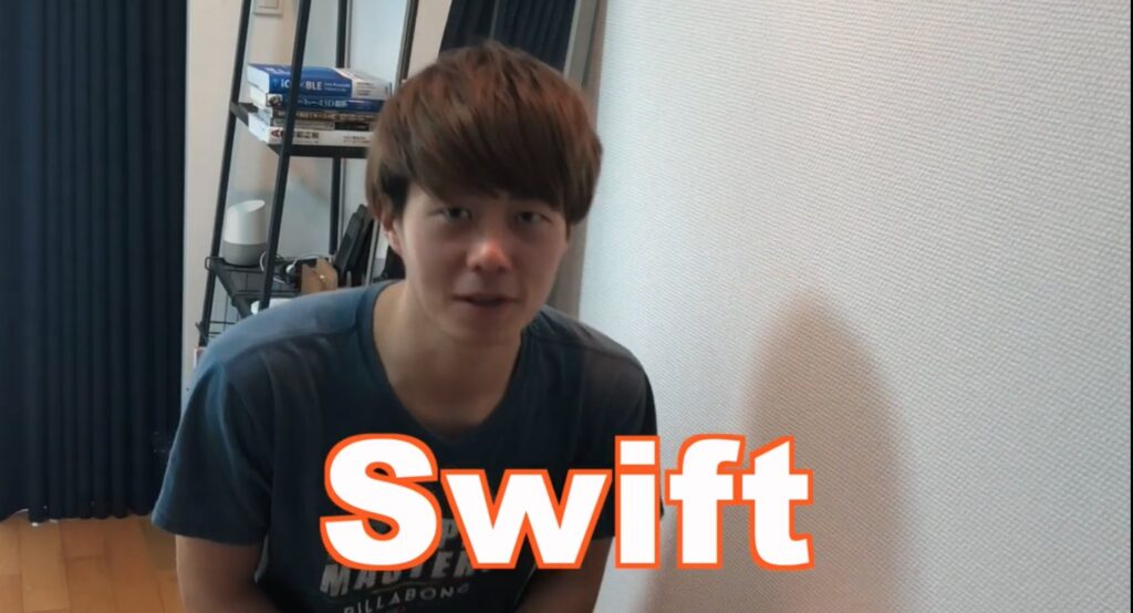 swiftをおすすめするkboyさん