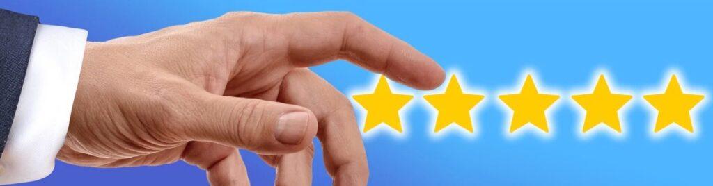 高評価 星5