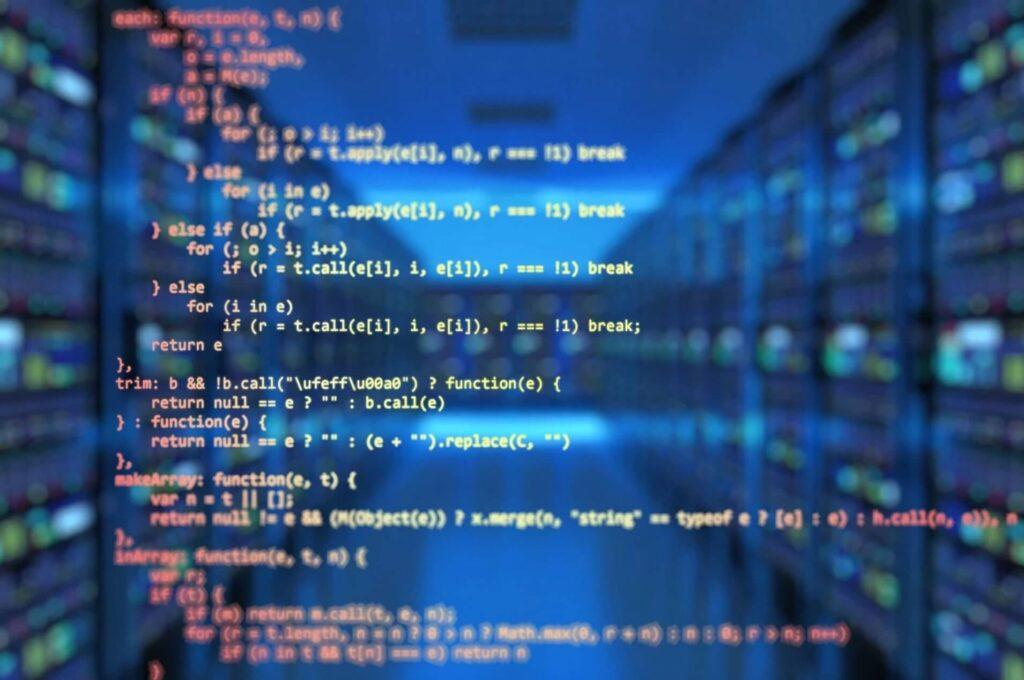 コンピュータに表示された文字