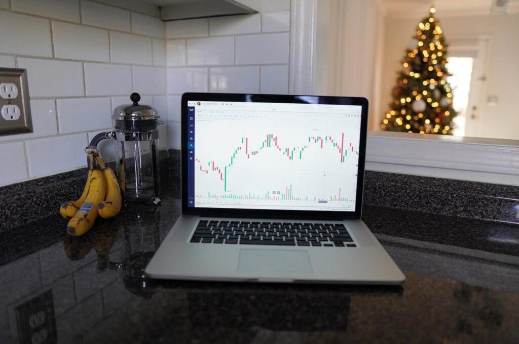 株式のチャート