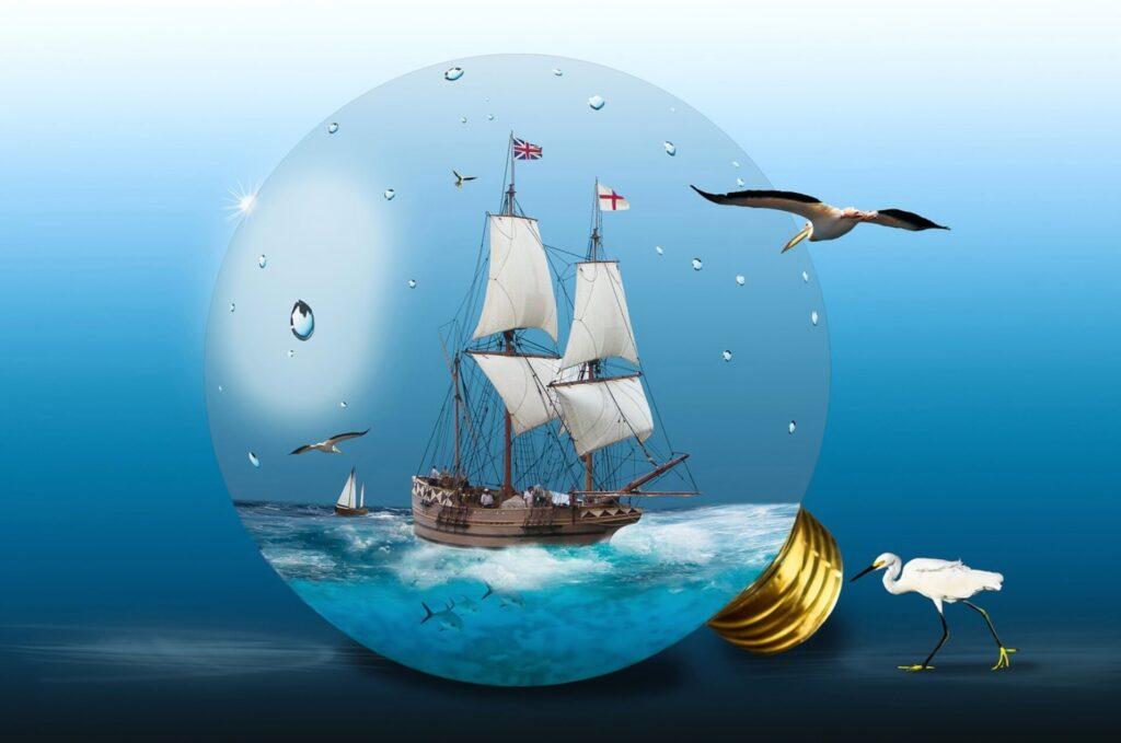 自由な船旅