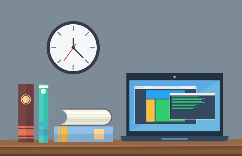 教材とパソコン