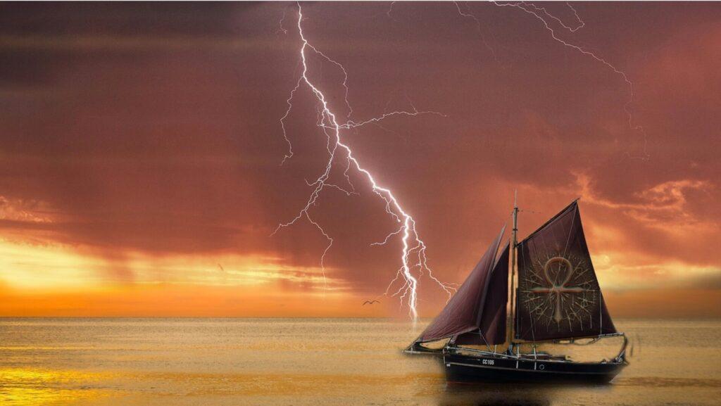 嵐の中の航海