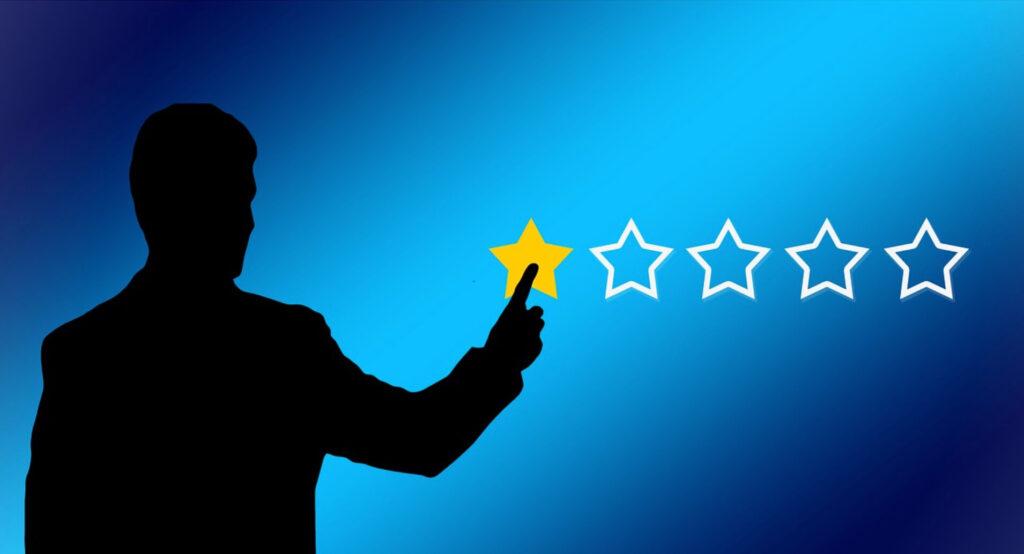 評価 星1