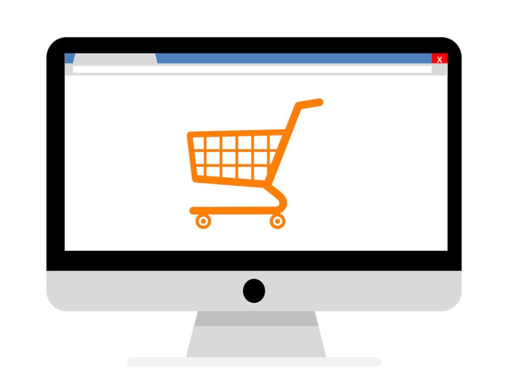 オンラインでのショッピング