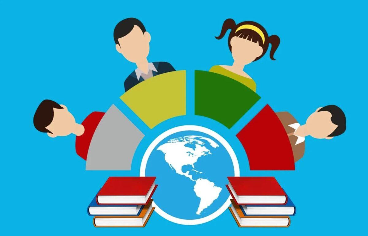 世界中で学習する人々
