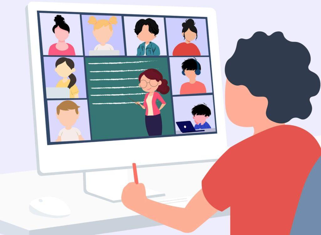 オンラインの授業